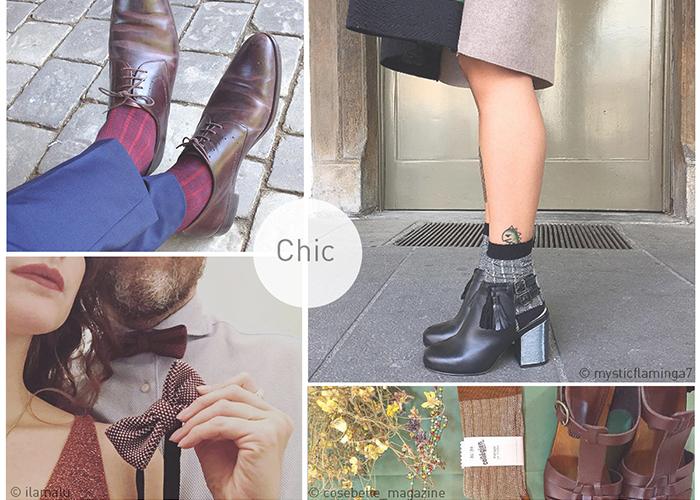 Nouveauté : chaussettes et accessoires vintage